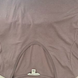 Taupe shimmery Banana republic top size small